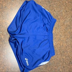 ASICS blue athletic  shorts